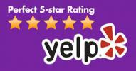 Superior Fabric Cleaners Perfect 5 Star Yelp rating