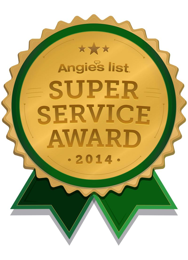 Angie's List Super Service Award 2014 Superior Fabric Cleaners